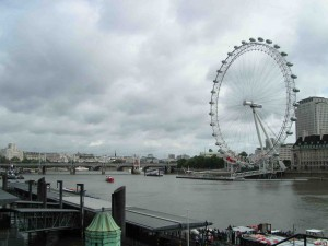 London Eye - linke Seite
