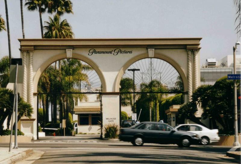 Eingangsportal Paramount Pictures
